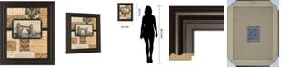 "Classy Art Travel Collage II by Gillian Fullard Framed Print Wall Art, 22"" x 26"""