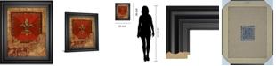 """Classy Art Fleur Adorn II by Tava Studio Framed Print Wall Art, 22"""" x 26"""""""