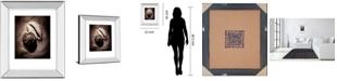 "Classy Art Cowrie by Laurel Wade Mirror Framed Print Wall Art, 22"" x 26"""