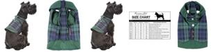 Parisian Pet Scottish Plaid Dog Tuxedo