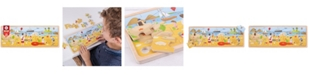 Bigjigs Toys Wooden At the Seaside Tray Puzzle - 24 Piece