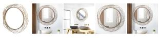 Crystal Art Gallery American Art Decor Sunburst Decorative Wall Vanity Mirror