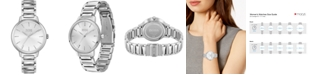BOSS Women's Signature Stainless Steel Bracelet Watch 34mm