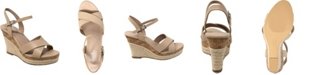 CHARLES by Charles David Lazaro Platform Wedge Sandals