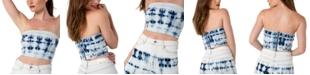 Kendall + Kylie Juniors' Tie-Dye Tube Top
