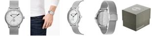 Timberland Men's Stainless Steel Mesh Bracelet Watch 40mm