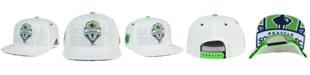 adidas Seattle Sounders FC Authentic Snapback Cap