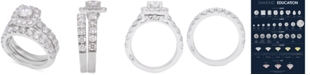 Marchesa Diamond Bridal Set (3 ct. t.w.) in 18k White Gold