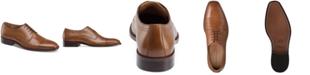 Johnston & Murphy Men's Sanborn Cap-Toe Lace-Up Oxfords