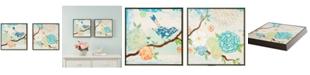 JLA Home   Intelligent Design 'Blooming Florals' Gel-Coated Decorative Boxes, Set of 2