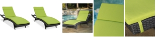 Noble House Taylor Outdoor Chaise Lounge