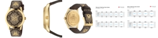 Gucci Unisex Swiss G-Timeless GG Supreme Canvas Strap Watch 38mm