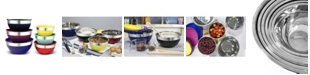 Elite by Maxi-Matic Elite Gourmet 12-Pc. Colored Mixing Bowl Set