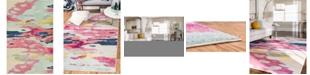 "Bridgeport Home Newwolf New4 Pink 10' 6"" x 16' 5"" Area Rug"