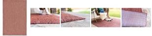 Bridgeport Home Pashio Pas6 Rust Red 6' x 9' Area Rug