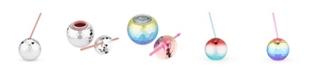 Blush Disco Ball Drink Tumbler