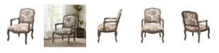 Furniture Monroe Camel Back Arm Chair