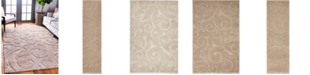 Bridgeport Home Malloway Shag Mal1 Beige Area Rug Collection