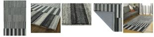 """Kaleen Alzada ALZ01-38 Charcoal 5' x 7'9"""" Area Rug"""