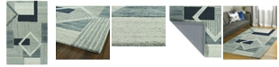 Kaleen Alzada ALZ04-17 Blue 9' x 12' Area Rug