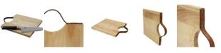Casa Bellante Acacia Cutting Board with Leather Handle