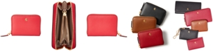 Lauren Ralph Lauren Smooth Leather Zip Wallet