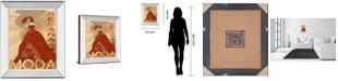 "Classy Art Semana De La Moda by Tava Studio Mirror Framed Print Wall Art, 22"" x 26"""