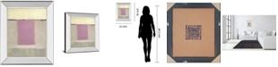 "Classy Art Twilight II by Caroline Gold Mirror Framed Print Wall Art, 22"" x 26"""