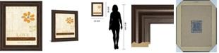 "Classy Art Let Love Bloom by Mollie B Framed Print Wall Art, 22"" x 26"""