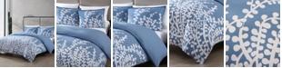 City Scene Branches Full/Queen Comforter Set