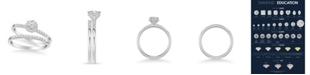 Macy's Diamond Bridal Set (3/4 ct. t.w.) in 14k White, Yellow or Rose Gold