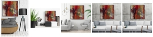 "Giant Art 20"" x 20"" Sidecars III Art Block Framed Canvas"