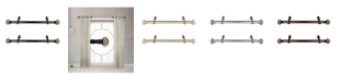 "Rod Desyne Baldir 1"" Side Curtain Rod 12-20"" (Set of 2)"
