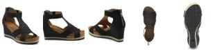 Adrienne Vittadini Women's Theresa Wedge Sandals