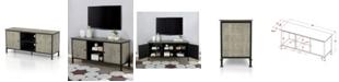 Furniture of America Terrenst Multi-Storage TV Stand