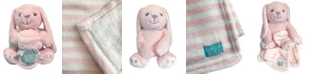 """Happycare Textiles Snoogie Boo Hug Me Ultra Soft Blanket with Stuffed Animal Toy Set, 30"""" x 36"""""""
