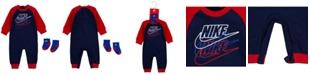 Nike Baby Boys Futura Coverall Sock Set