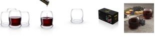 JoyJolt Cosmos Stemless Wine Glasses - Set of 4