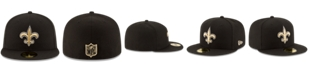 New Era New Orleans Saints Team Basic 59FIFTY Fitted Cap