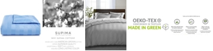 """Charter Club 3"""" Stripe King Duvet Cover, 100% Supima Cotton 550 Thread Count, Created for Macy's"""