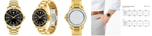 Movado Men's Swiss Series 800 Gold-Tone PVD Stainless Steel Bracelet Diver Watch 40mm