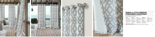 "Elrene Marin 50"" x 84"" Indoor/Outdoor Water-Repellent Grommet Curtain Panel with 50+ UV Protection"