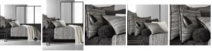 Oscar Oliver Oscar|Oliver Flen Cotton Black California King Comforter