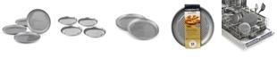 "Calphalon Nonstick Set of 4 Mini 7"" Personal Pizza Pans"