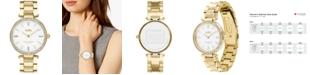 COACH Women's Park Gold-Tone Stainless Steel Bracelet Watch 34mm