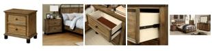 Furniture of America Calvin 2-drawer Nightstand