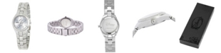 ewatchfactory Disney Mickey Mouse Women's Stainless Steel Fortaleza Watch