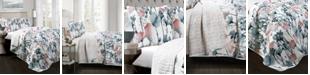 Lush Decor Zuri Flora 3-Pc Set Full/Queen Quilt Set