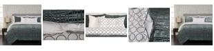 Siscovers Interweave Contemporary Reversible 6 Piece Queen Luxury Duvet Set