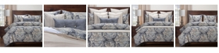 Siscovers Cindersmoke 5 Piece Twin Luxury Duvet Set